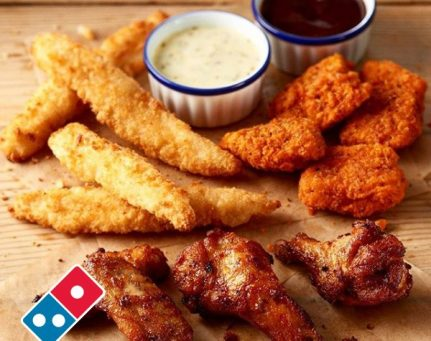 chicken dominos pizza