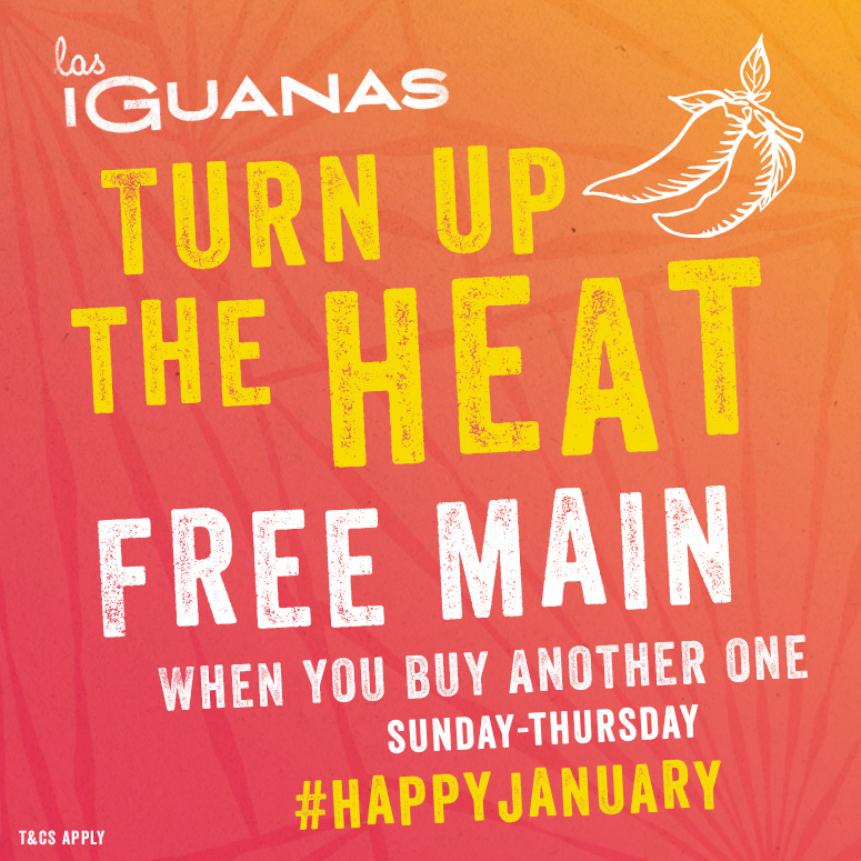 Free main at Las Iguanas