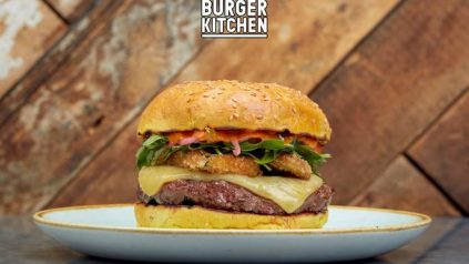 gourmet burger kitchen burger
