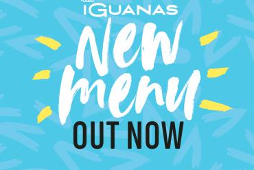 las iguanas new menu