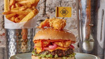 prawn star burger gbk