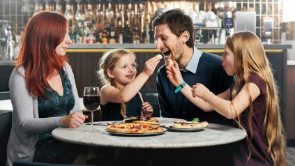 Father's Day at Pizza Express