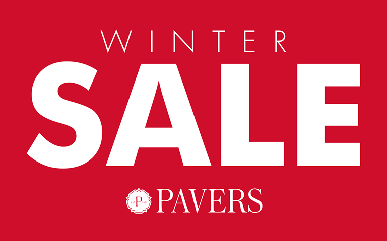 Pavers Winter Sale