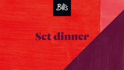 Bills Set Menu