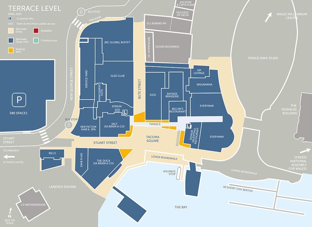Cynllun Lefel y Teras – Mis Ebrill 2021